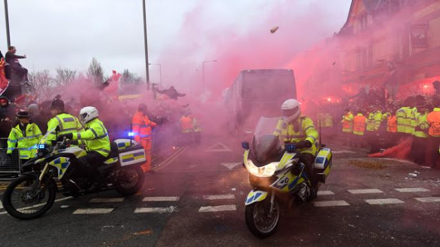 BREAKING! Liverpool Charged By UEFA Over Manchester City Team Bus Attack