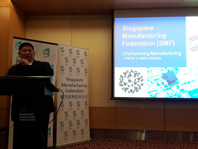 Sunny Koh, SMF Deputy President, speaking at a FHA media preview.