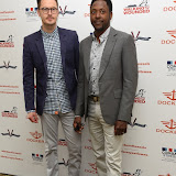 OIC - ENTSIMAGES.COM - Joe Tootal and Matt Henry at the Dockers Flannels for Hero's Charity cricket match and Garden party Chelsea London 19th June 2015  Photo Mobis Photos/OIC 0203 174 1069
