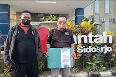 Merasa Dilecehkan, LSM GARAD Minta Kepala BPN Sidoarjo Dicopot