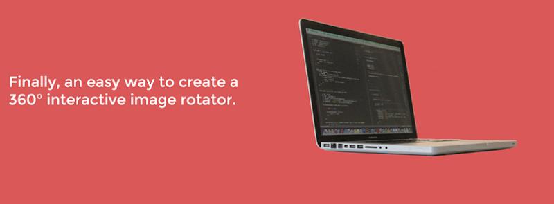 Rollerblade.js, para crear efectos de rotación de imágenes 360°