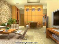 Nhà đẹp với nội thất mộc