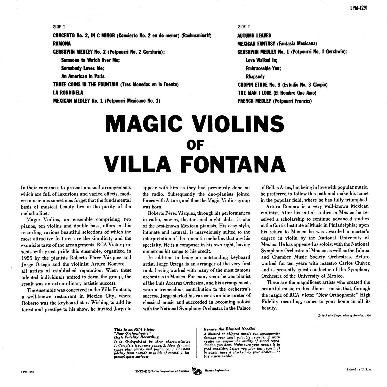 The Magic Violins