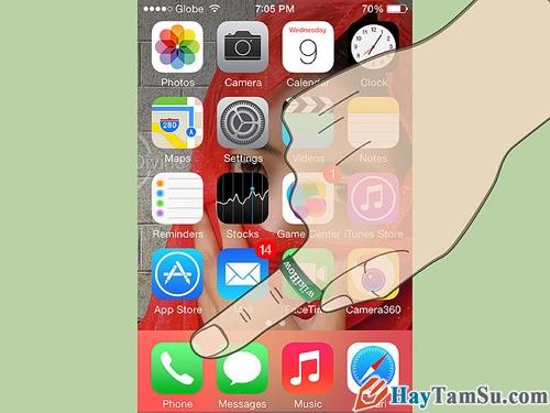Sử dụng Facetime trên iphone 1
