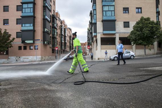 Limpieza en profundidad del barrio