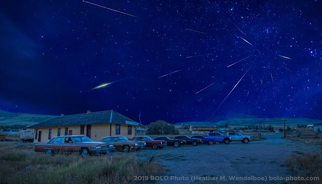 Perseidas 2019 em Wyoming EUA - Heather M. Wendelboe