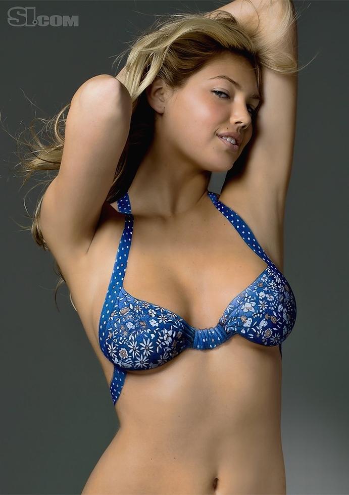 Bikini Girls: Kate Upton Body Paint 2011 Sports Illustrated Swimsuit ...