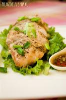 (Kurczak po wietnamsku z sosem sojowo-sezamowym