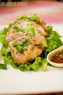 (Kurczak w sosie sojowo-sezamoym po wietnamsku