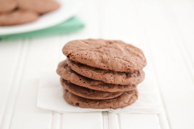 photo of brownie cookies