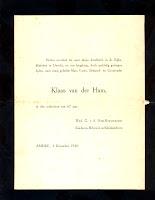Ham, Klaas van der Overlijdenskaart 03-12-1940.jpg