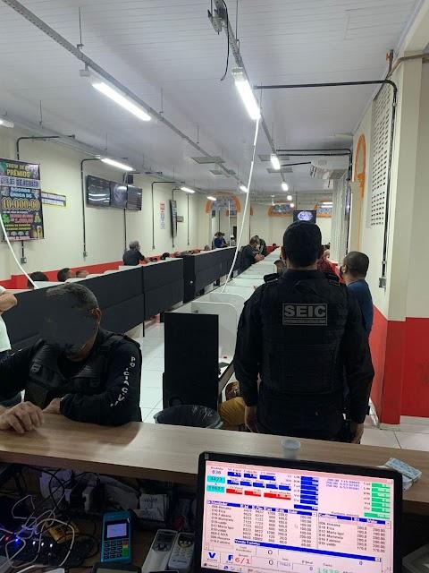 Policia Civil realiza operação fecha casas de jogos de azar na Grande Ilha