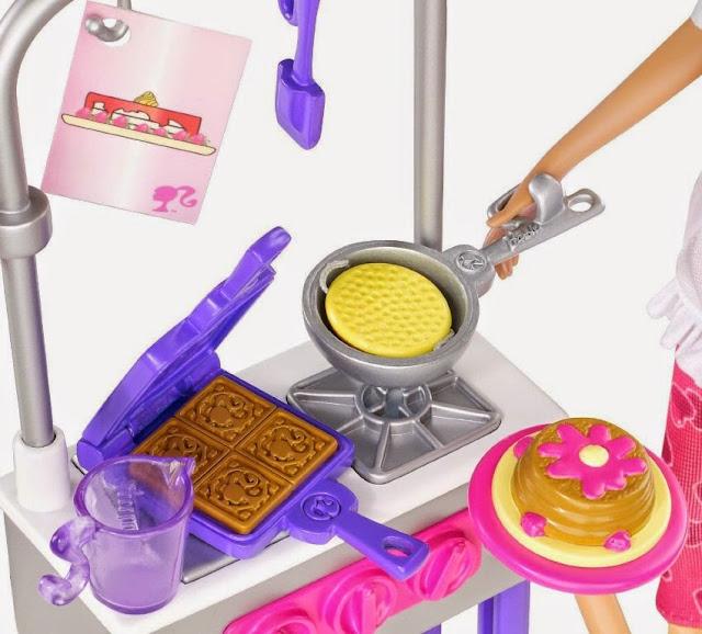 Chị em búp bê Barbie cùng làm bếp X0099