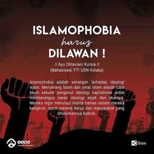 Islamophobia Harus Dilawan !
