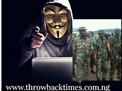 ENDSARS: Nigerian Army To Track Anonymous Government Websites Hacker, Use Force On Protesters (READ).