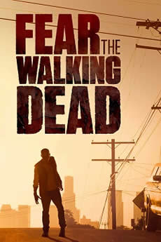 Capa Fear The Walking Dead 1ª Temporada Dublado
