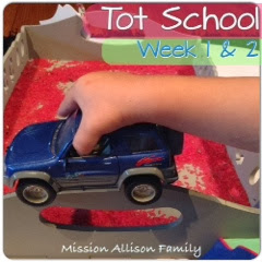 Tot school - week 1 and 2