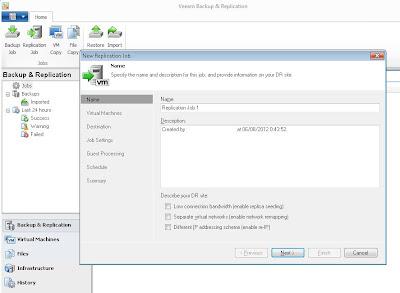 Opciones de la versión completa de Veeam Backup & Replication