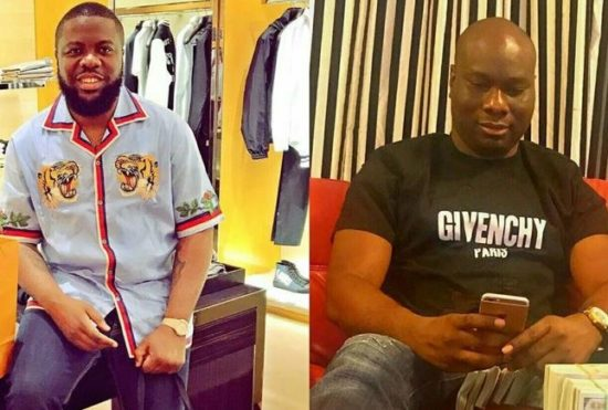 Hushpuppi Congratulates Mompha On His New Whip Alert  (Photos)