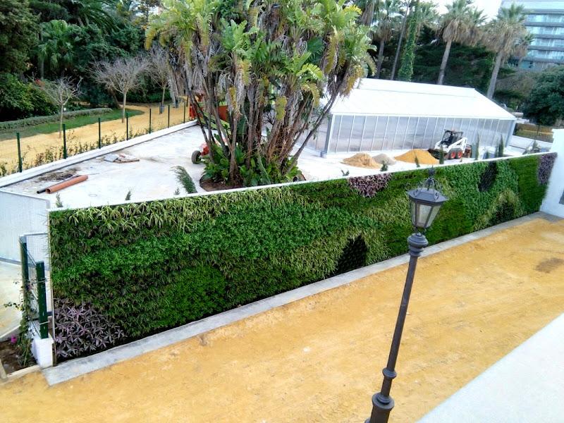 Jardín vertical en Cádiz