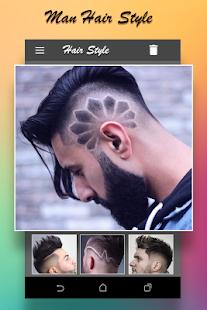 Man HairStyle Photo Editor - Latest Hair Style - náhled