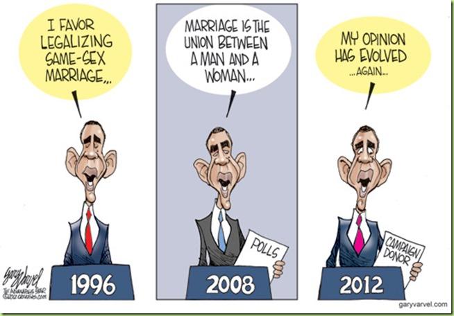 Obama Evolving