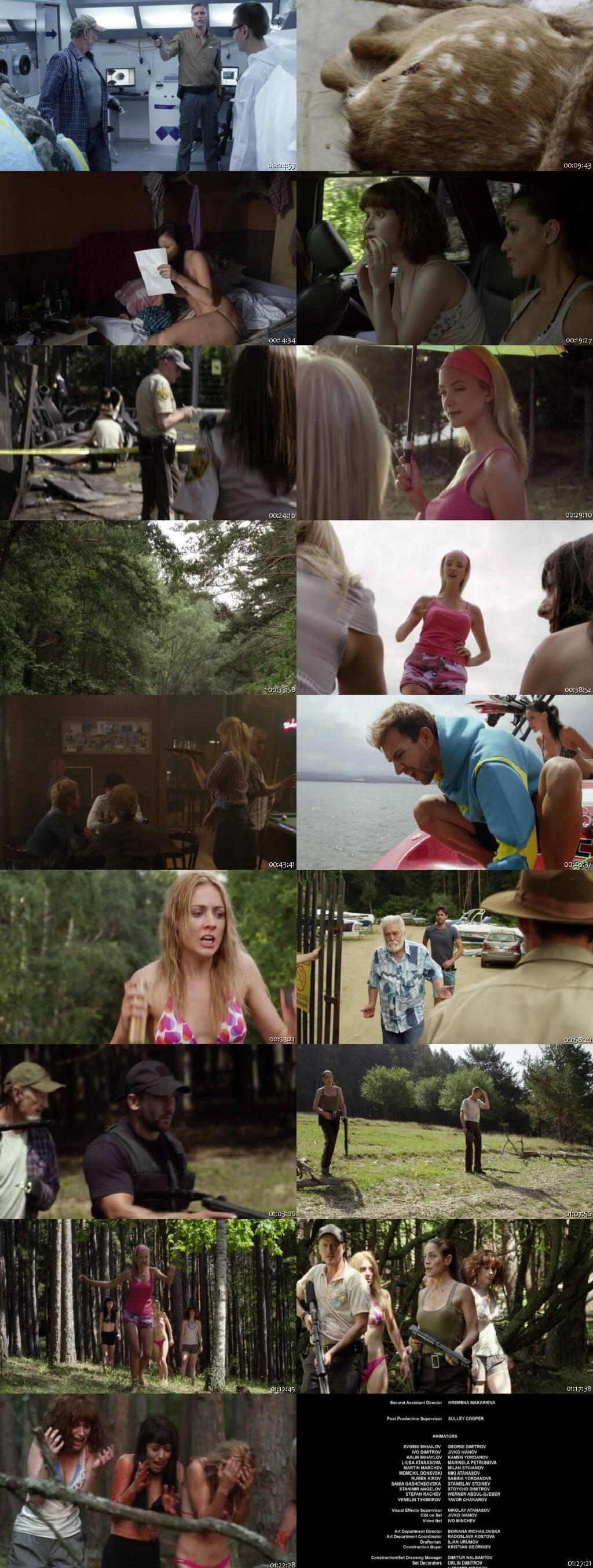 Screen Shot Of Lake Placid vs. Anaconda 2015 In Hindi English Dual Audio Bluray