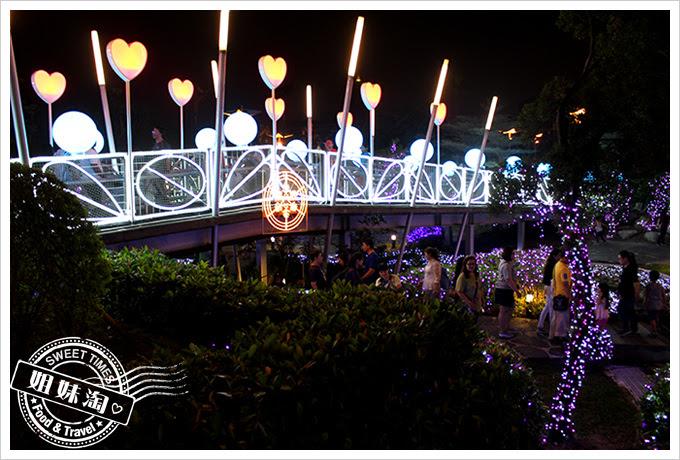 2016夢時代愛Sharing聖誕節愛情鎖橋