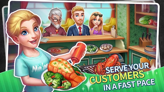 My Restaurant Empire MOD APK 0.5.04 [Unlimited Diamonds] 2