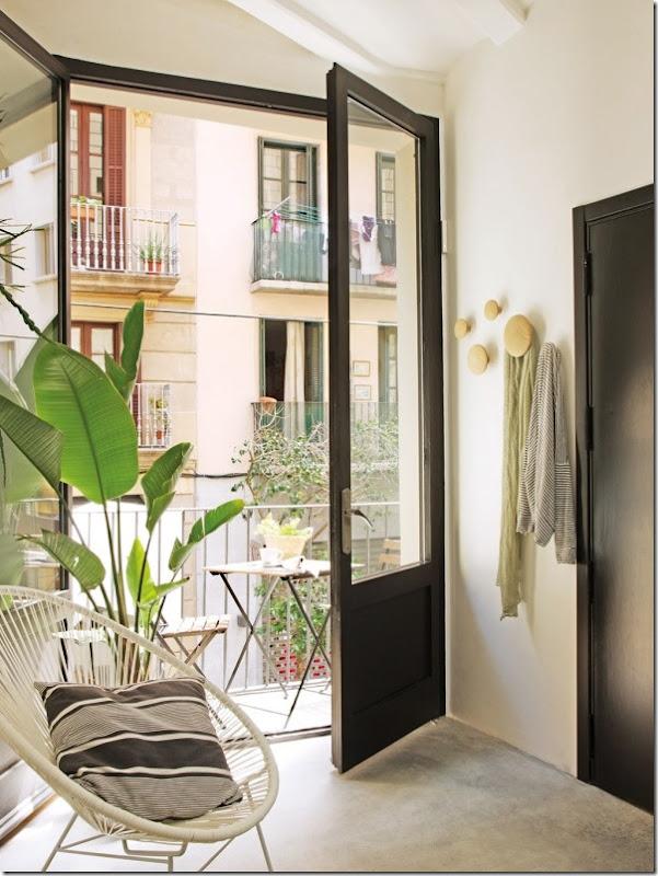 Stile Industriale per un piccolo appartamento