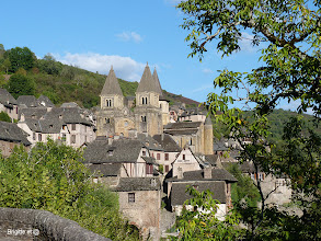 Photo: .....voici Conques....