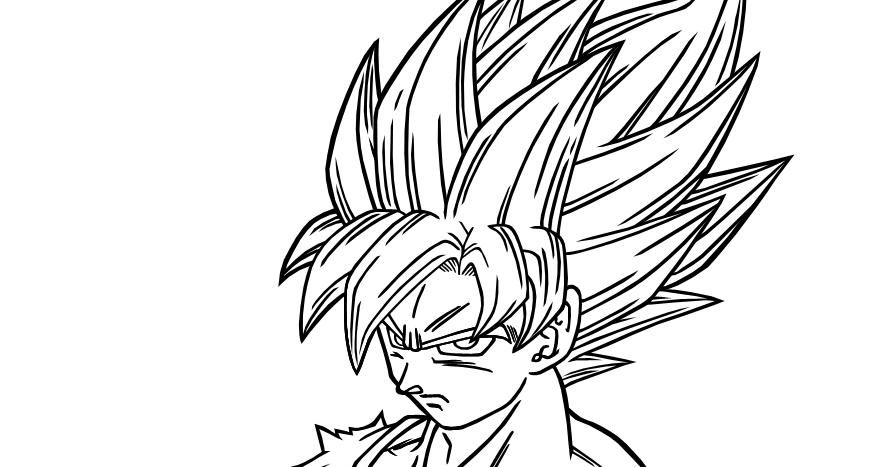 Lujo Imagenes Para Colorear De Goku Fase 4: Imagenesde99: Imagenes De Goku Fase 4 Para Imprimir