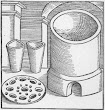 The Fusion Or Melting Furnace Taken From Geber Works London 1678