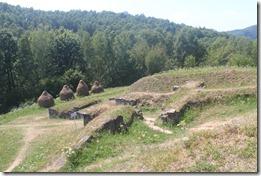 Фортеця даків, Ораштіє, Костешти