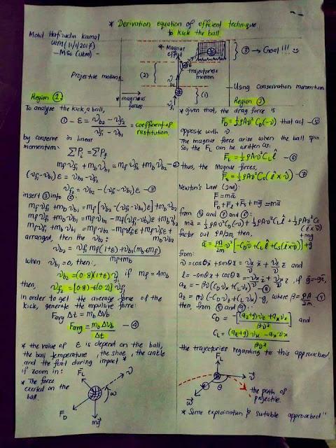Kajian fizik siap dengan perkiraan tentang jaringan Faiz Subri
