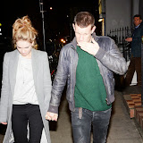 OIC - ENTSIMAGES.COM - Lily James and Matt Smith Attends Hayden Kays: The Top Ten - private view British pop artist returns with his first solo exhibition of 2015, showcasing ten pieces from his celebrated typewriter series in London on the 2nd April 2015. Photo Mobis Photos/OIC 0203 174 1069