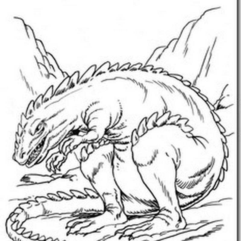 colorear dinosaurios dibujos para niños
