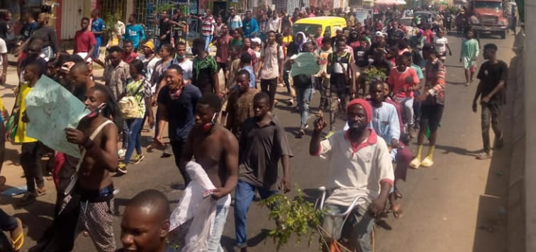 #EndSARS: Youths Protest In Nasarawa
