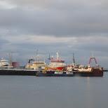 harbor in Reykjavik, Hofuoborgarsvaeoi, Iceland