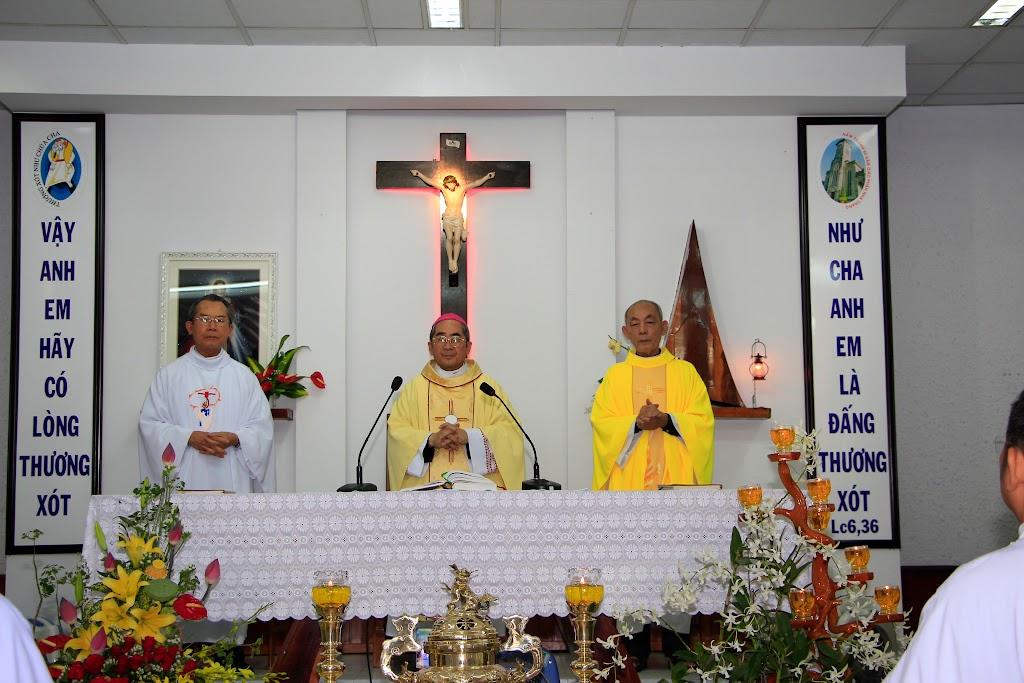 Thánh Lễ Tạ Ơn Mừng 50 năm Hồng Ân Linh Mục và thượng thọ 80 tuổi của Cha Giacôbê Nguyễn Văn Vĩnh