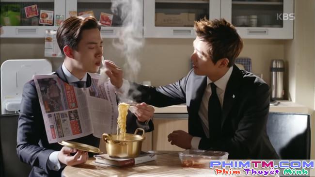 """""""Sếp Kim"""" khép lại cùng màn cover TT của Nam Goong Min và Jun Ho - Ảnh 1."""