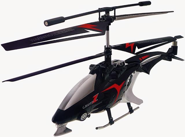 Mô hình Máy bay trực thăng điều khiển từ xa Gravity-Z Skyrover YW858231 màu đen hấp dẫn