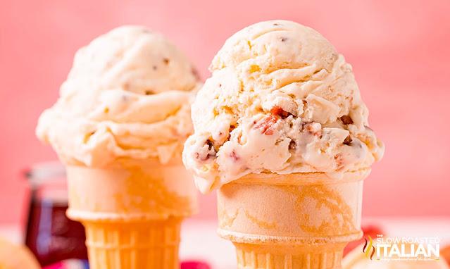 No-Churn Maple Bacon Ice Cream