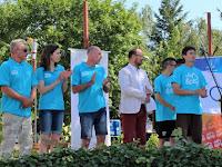 06 Az olimpiai láng ünnepélyes fogadása Ipolyságon.JPG