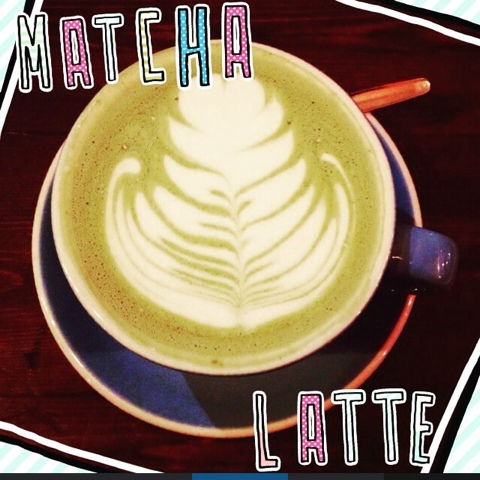 Matcha latte in Nottingham