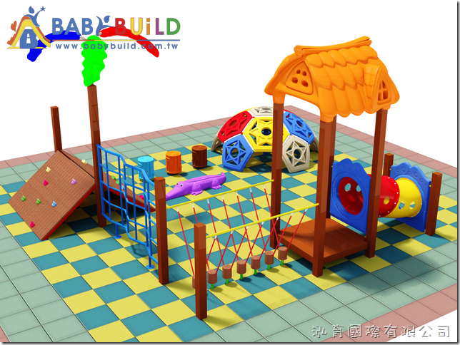 BabyBuild 兒童體適能遊具