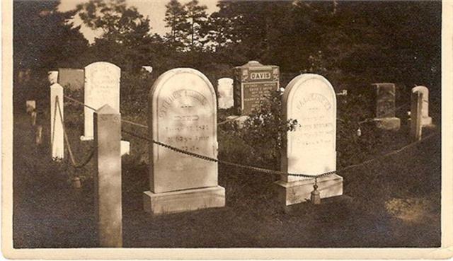 Robinson cemetery plot