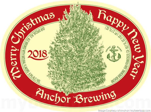 anchor brewing reveals 2018 merry christmas happy new year special ale - Anchor Brewing Christmas Ale