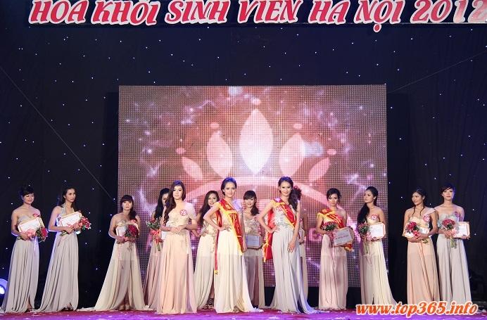 """Đêm chung kết """"Ước mơ tỏa sang"""" Imiss Thăng Long 2012"""