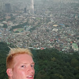 view from the N Seoul tower in Korea in Seoul, Seoul Special City, South Korea